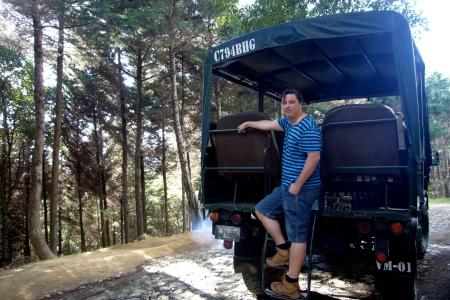vehiculos de transporte de Antigua Canopy Tours