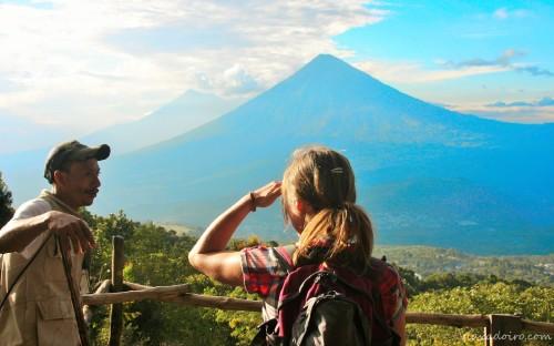Ascensión al Volcán Pacaya en Guatemala