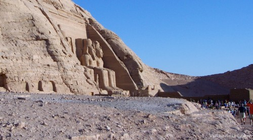 El templo de Ramses II en Abú Simbel