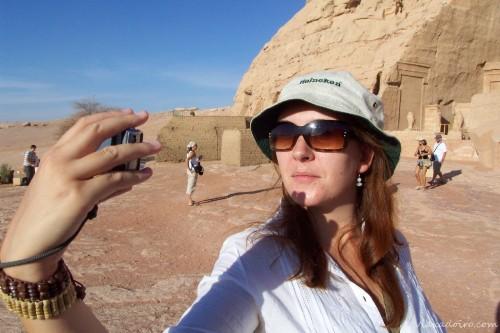 Recuerdo de cuando las selfies se llamaban autofoto y no hacía falta palo para hacerlas.