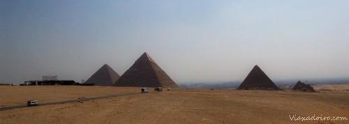 Pirámides de Guiza: Keops , Kefrén y Micerinos