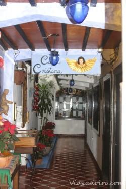 interior casa cristina antigua guatemala
