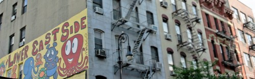 Fachadas del Lower East Side, uno de los barrios con más encanto de Nueva York