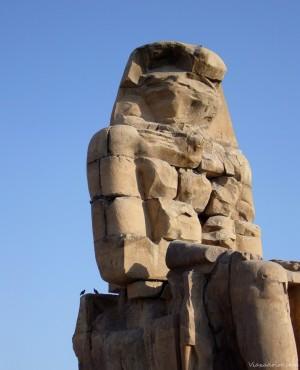 Uno de los dos colosos de Memmon