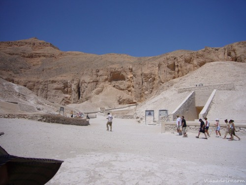 Valle de los Reyes en Luxor