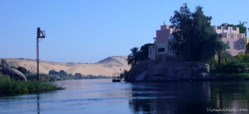 Isla fluvial en Aswan