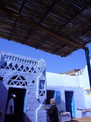 Poblado nubio en Aswan