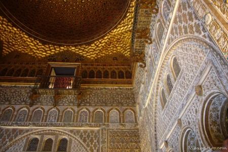 Interiores del Alcazar de Sevilla