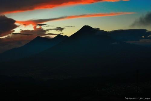 mirador final excursión volcán pacaya