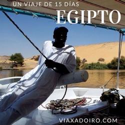 diario viaje 15 días egipto