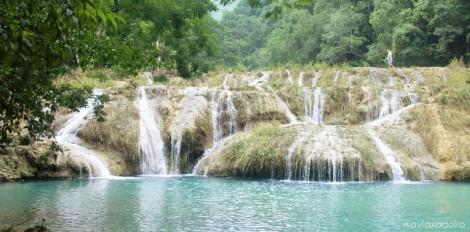 Pozas y cascadas de Semuc Champey