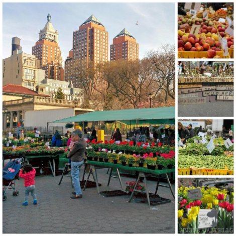 Mercado de productores de Unión Street en Nueva York