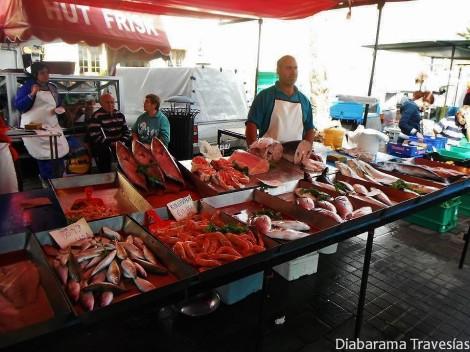 Mercado de Marsaxlokk en Malta