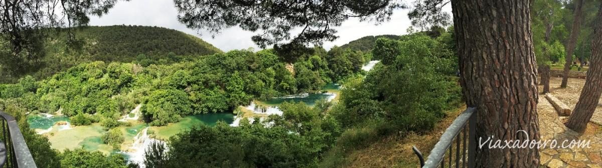 Visitando el Parque Nacional de Krka y Sibenik por libre desde Split